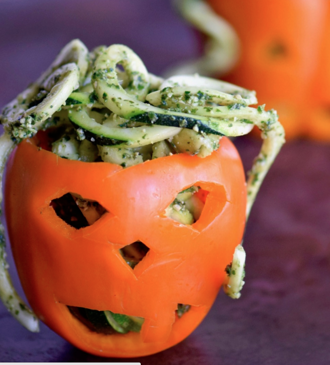 Recipe of the Month: Stuffed Pepper Jack-O'Lanterns
